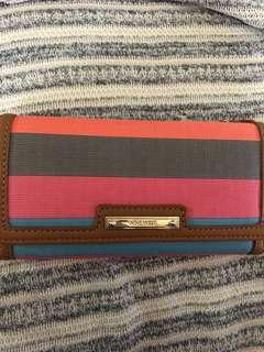 Long wallet with card case