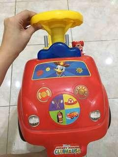 Mickey mouse car for toddler -ELC