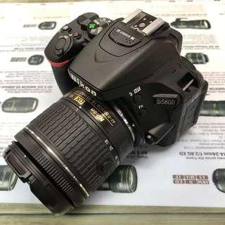 Nikon D5600 + AFP 18-55mm