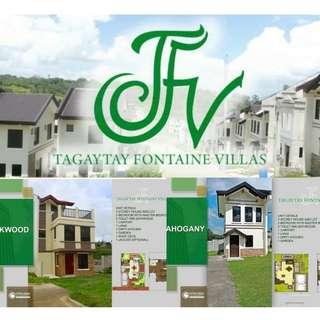 House and Lot (Tagaytay Fontaine Villas)