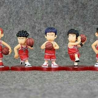 Slam Dunk Collectible Item Set of 5