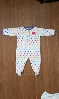 🚚 Carters baby girl bodysuit