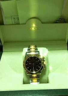 Rolex Daytona 116523 half gold