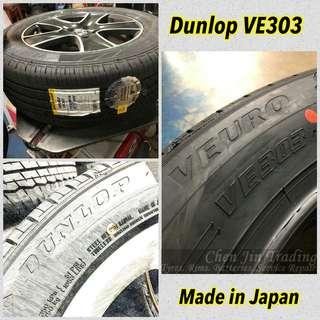 Dunlop Veuro VE303 Japan made, wholesale price, promotion, new arrival, new launch tyre, premium comfort tyre, best deal