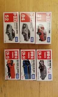 Tomica 玩具車 紅旗 多美卡 cn nissan GT-R