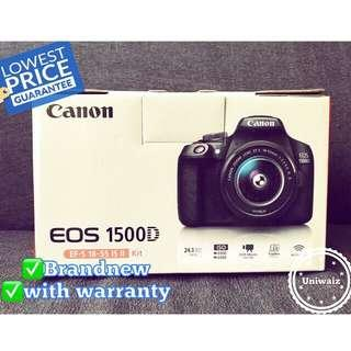 Canon DSLR EOS 1500d with EF-S18-55mm IS II Lens 24MP original brandnew canon 1500d