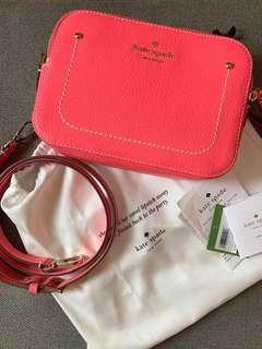 Authentic Kate Spade thompson street juliet brightflam Crossbody Bag