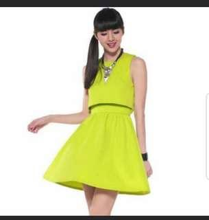 3d4eb3ae3f2 Love Bonito Gaynelle Dress in Lime