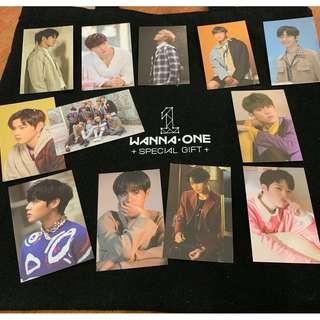 Wanna One Final Therefore Concert Official Special Gift Photocard