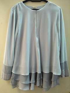 Chiffon layer top Size 44/XXL
