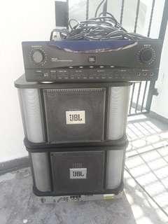 🚚 JBL  amplifier and speaker