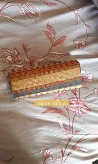 Preloved ( like new ) Dompet kondangan handmade