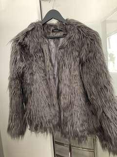 New boohoo fur jacket