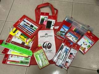 FABER CASTELL 40TH ANNIVERSARY GIFT PACK BUNDLE SET