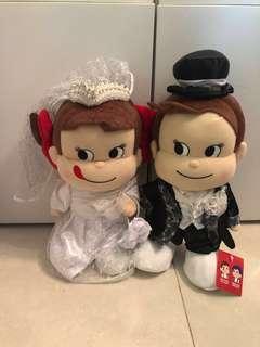 牛奶妺結婚公仔一對 Peko&Poko wedding soft toys