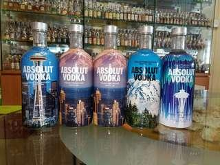 🚚 Absolut Vodka Seattle Limited Edition