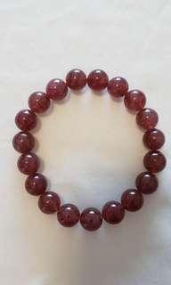 天然草莓晶 (10mm)