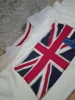 Union Jack Tshirt #cnyga