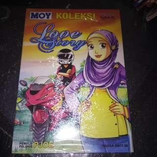 Koleksi Moy Ujang -  Love Story karya Pjoe