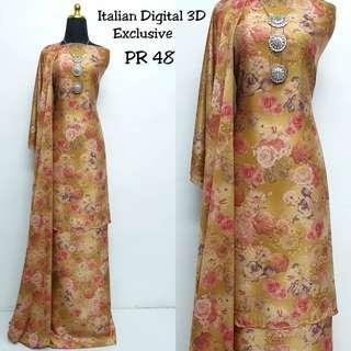 Baju Kurung Italian 3D PR48