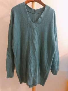 Japan Heather Turquoise Sweater 湖水色冷衫