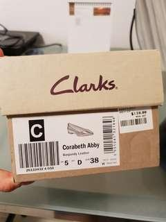 Flat shoes from Clarks