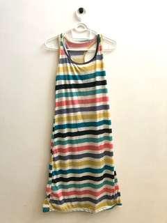 Colour Striped Dress