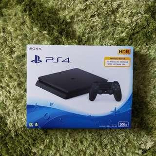 [NEW][PROMO][CNY SALE] PS4 SLIM 500GB BLACK