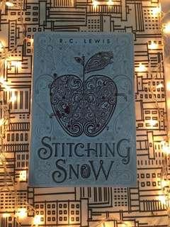 Stitching Snow by R.C Lewis
