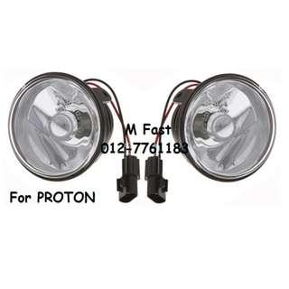 Replacement Fog lamp for Proton [1Pair] (Yellow/White)