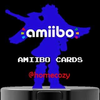 (Free NM) Customised Amiibo Card (Brand New)
