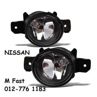 Replacement Fog lamp for Nissan [1Pair] (Yellow/White)