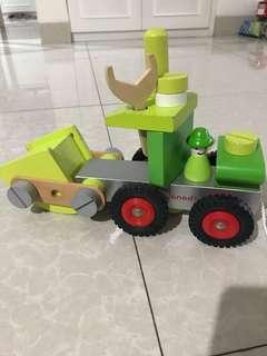 Pull toy- wooden truck