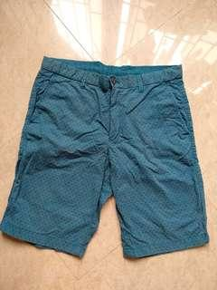 🚚 Uniqlo Chino Shorts L Brand New Turquoise Blue Green