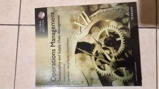 Operation Management 12 ed, Jay Heizer, Pearson