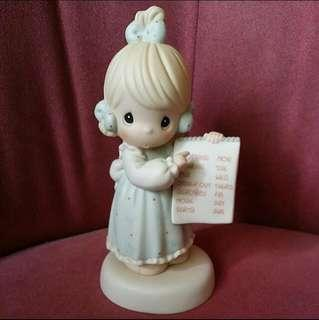 Precious Moments Girl Figurine : Have You Any Room for Jesus