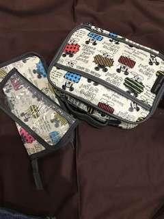 🚚 日本米奇餐袋 餐具包 2個1起賣