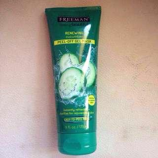 Freeman Cucumber Peel Off Gel Mask