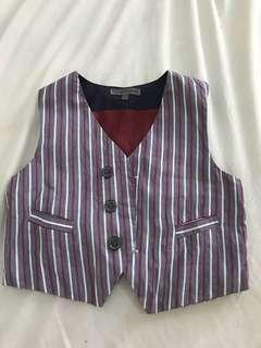 Periwinkle waistcoat