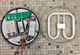 防水儲電燈