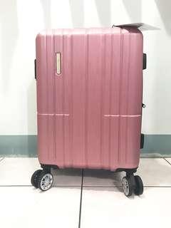OUTDOOR 20寸防刮旅行箱-粉色(附保卡)