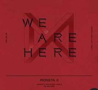 [LOOSE ITEMS] Monsta X Take 2 We Are Here