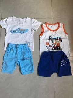 Boy 12-18mths clothing set(Free Postage)
