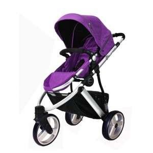 Purple Perreno Versatile II Stroller- 3 In 1