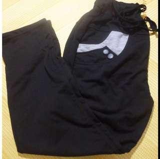 🚚 全新 釦飾 棉褲 長褲 休閒長褲 #一百均價
