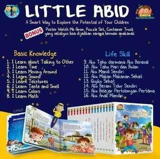 Little abid / buku anak