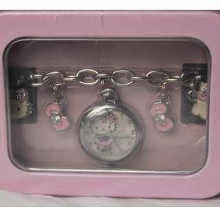 日本Hello Kitty 凱蒂貓手鍊型手錶