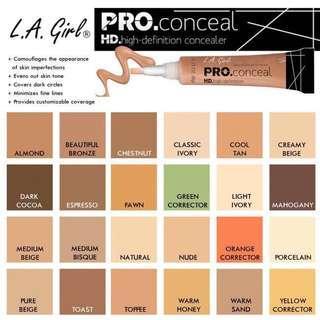 la girl pro hd concealer