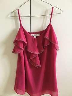Forever New Red tops for women size M