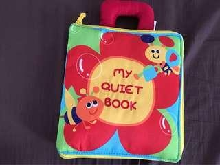 Baby toy cloth book (my quiet book)